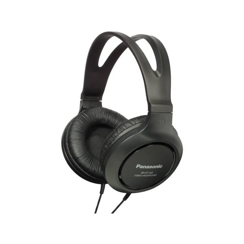 Slúchadlá Panasonic RP-HT161E-K (RP-HT161E-K) čierna