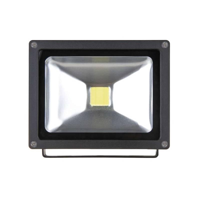 LED reflektor EMOS HOBBY 20W, studená bílá, 1300lm (1531221020) čierny