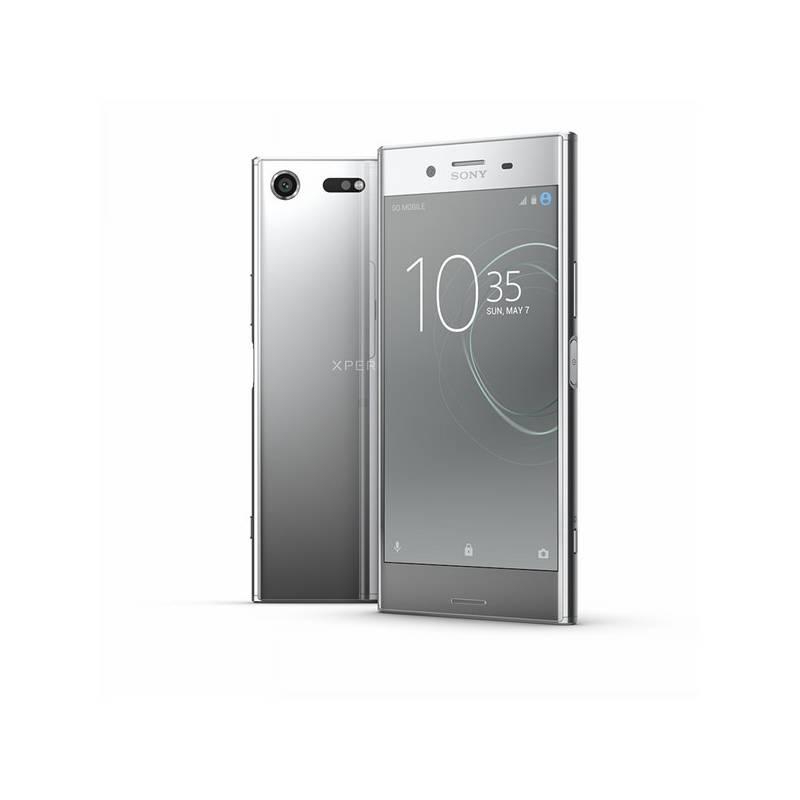 Mobilný telefón Sony Xperia XZ Premium Dual Sim (G8142) - Chrome Silver (1308-4123) + Doprava zadarmo