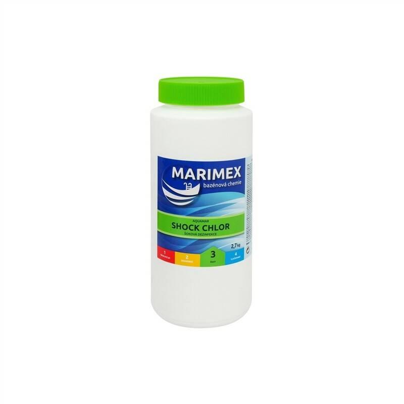 Bazénová chémia Marimex Chlor Šok 2,7 kg + Doprava zadarmo