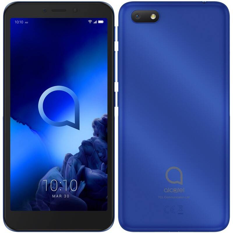 Mobilní telefon ALCATEL 1V 2019 Dual SIM (5001D-2BALE11) modrý