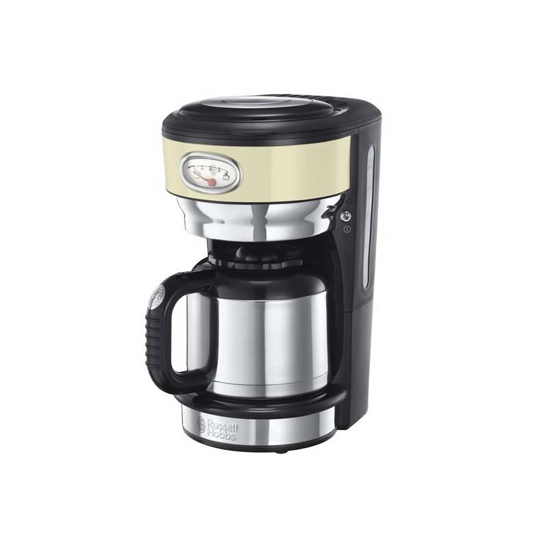 Kávovar RUSSELL HOBBS RETRO 21712-56 krémový