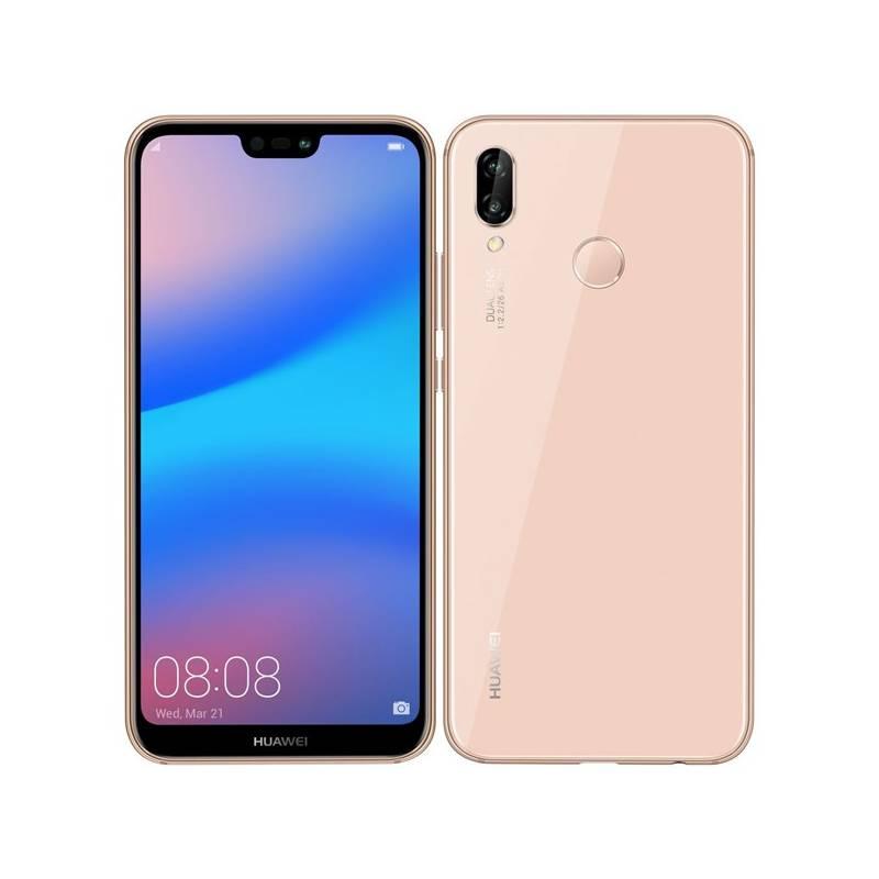 Mobilný telefón Huawei P20 lite (SP-P20LDSPOM) ružový Software F-Secure SAFE, 3 zařízení / 6 měsíců (zdarma)Fitness náramek Huawei Color Band A2 - černé (zdarma) + Doprava zadarmo