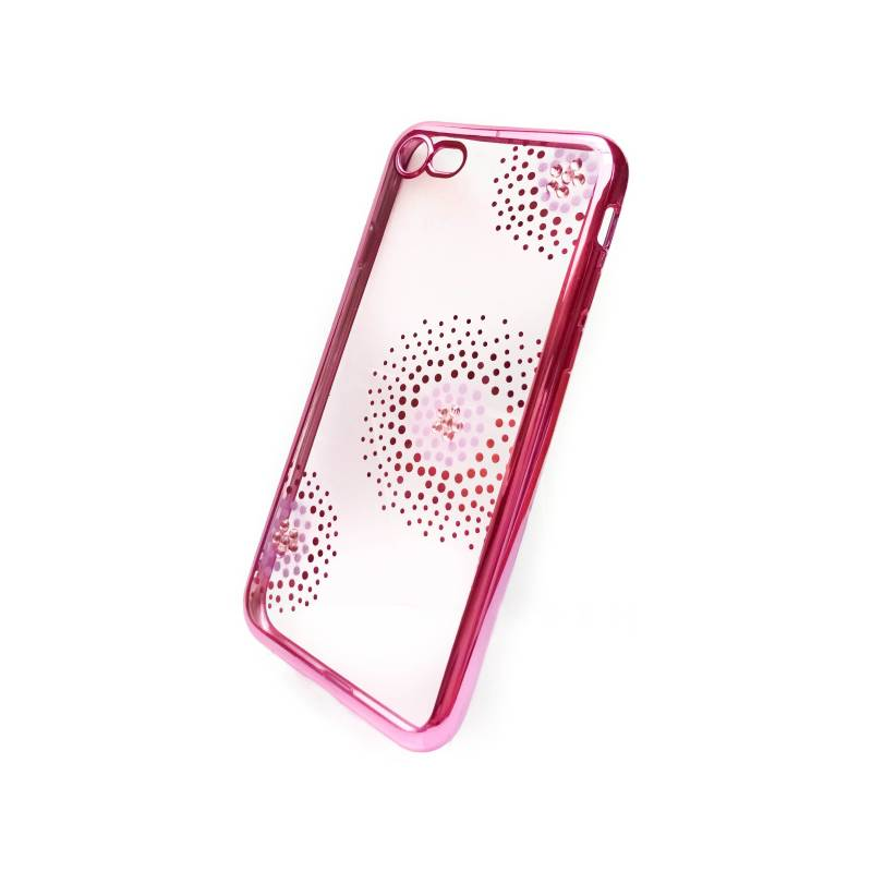Kryt na mobil Beeyo Flower Dots pro Apple iPhone 8 7 (BEAAPIP7TPUFLPI)  ružový 6b61a6c9ef8