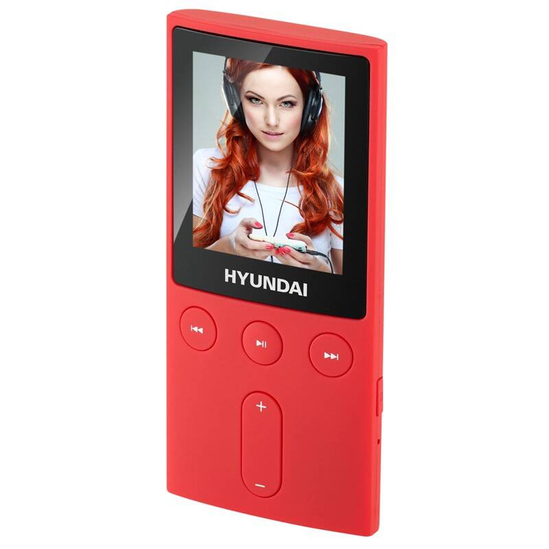 MP3 prehrávač Hyundai MPC 501 GB4 FM R červený