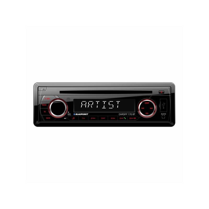 Autorádio s CD Blaupunkt Cardiff 170 BT (2001017123459) čierne