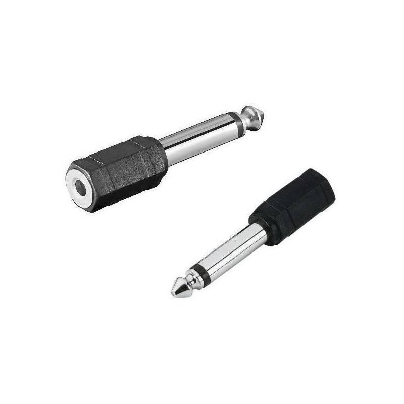 Redukce AQ mono 3,5 mm jack / 6,3 mm jack F/M (xaqcaa403)