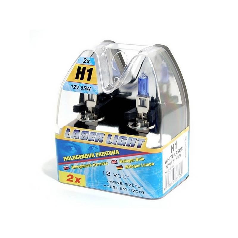 Autožiarovka Compass 12 V H1 55W WHITE LASER 2 ks