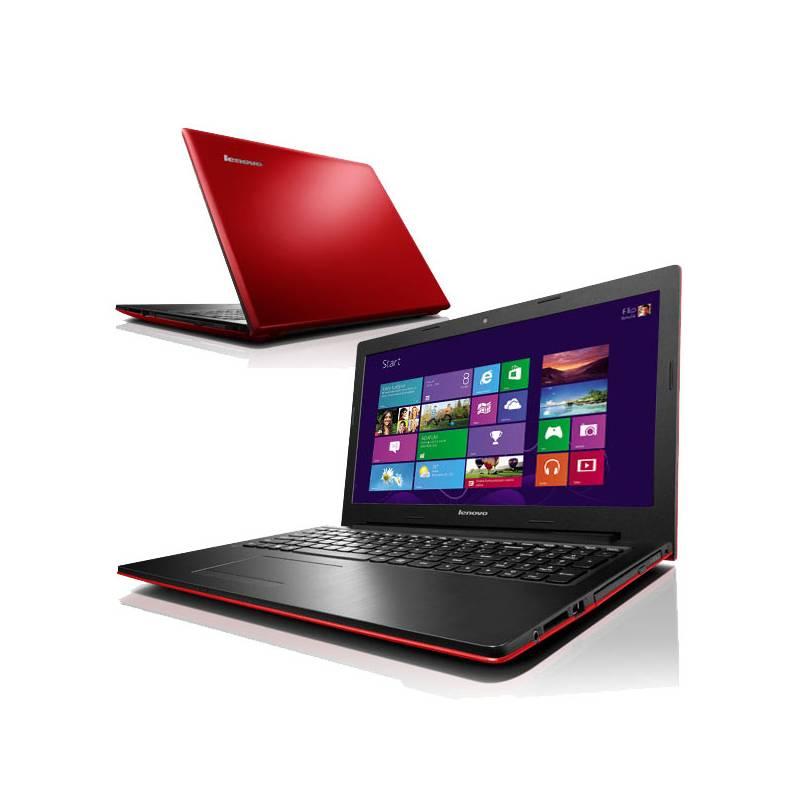 3551d52519 Notebook Lenovo IdeaPad G500s (59392700) červený