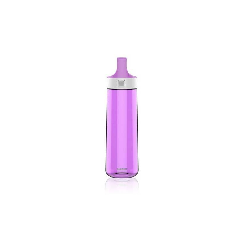 Flaška na pitie BANQUET Avanza 0,76 l fialová farba