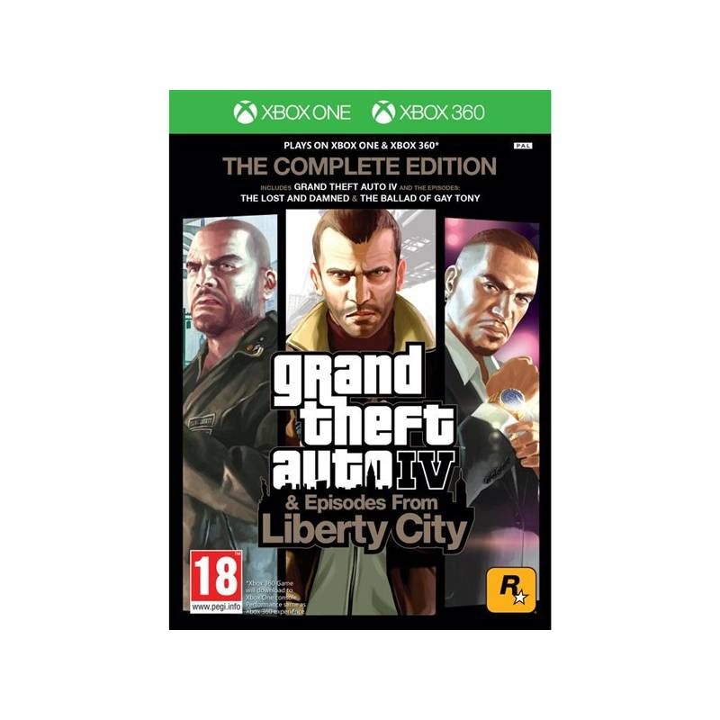 Hra Take 2 X360 Grand Theft Auto IV Complete Edition (435213)