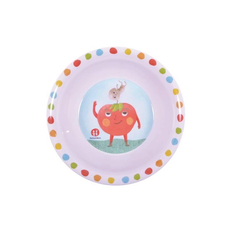 Detská miska Petite&Mars zelenina