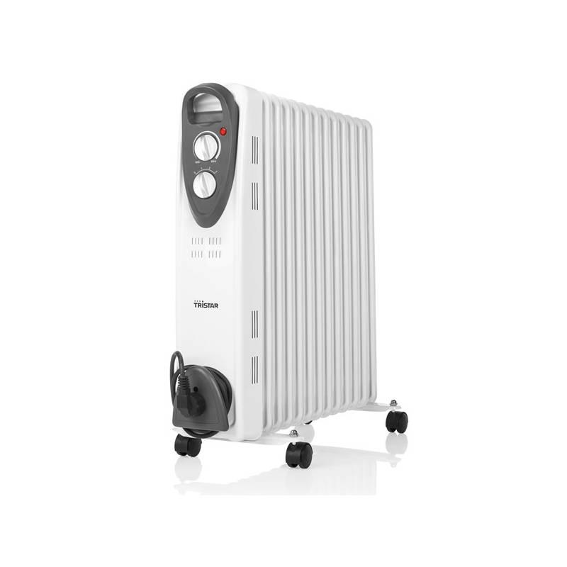 Olejový radiátor Tristar KA-5093 čierny/biely