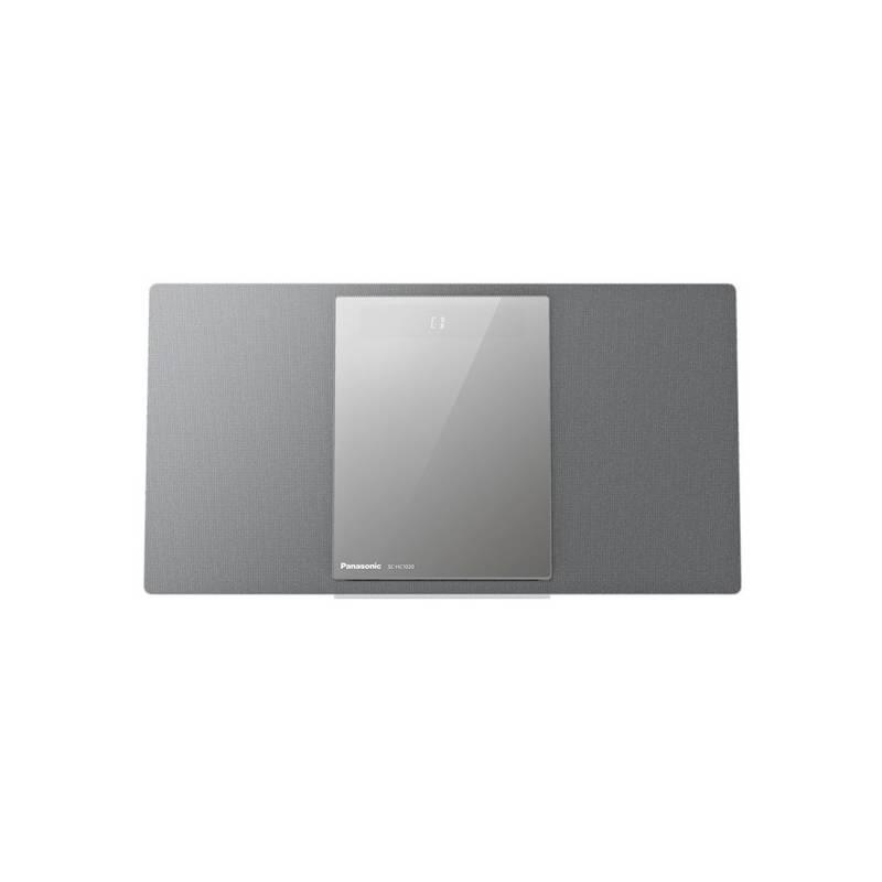 Mikro HiFi systém Panasonic SC-HC1020EG-S (SC-HC1020EGS) strieborná