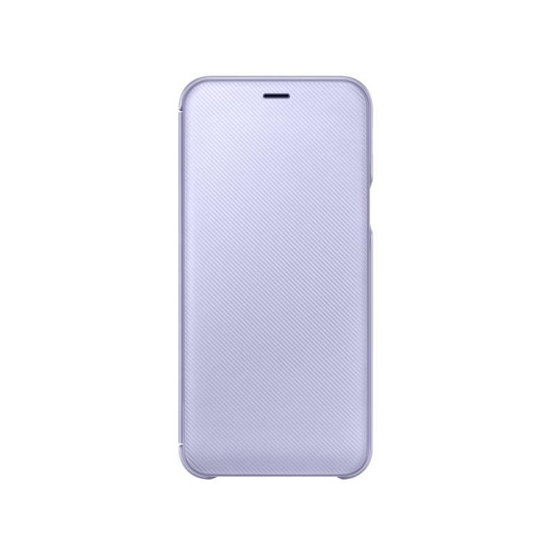 Puzdro na mobil flipové Samsung Wallet Cover pro Galaxy A6 - levandulová (EF-WA600CVEGWW)