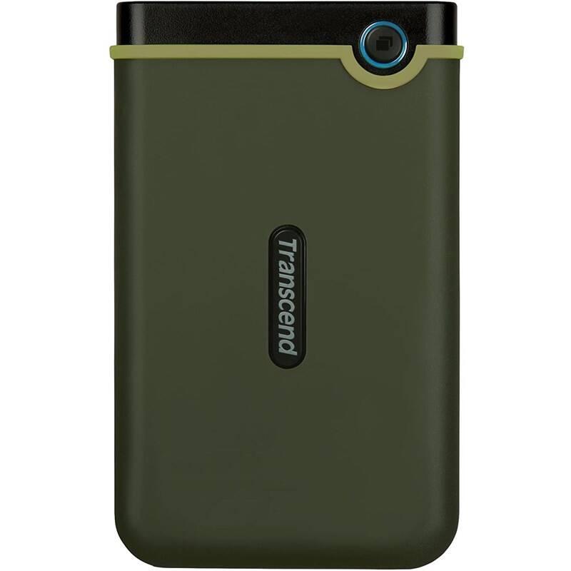 Externý pevný disk Transcend StoreJet 25M3G 2TB, USB 3.0 (3.1 Gen 1) (TS2TSJ25M3G) zelený + Doprava zadarmo