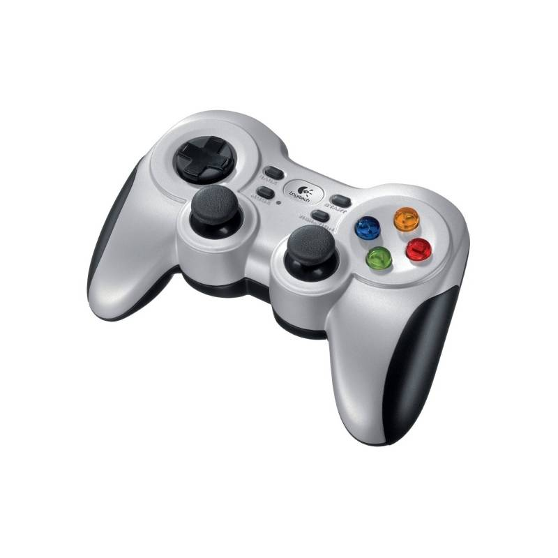 Gamepad Logitech F710 Wireless pro PC (940-000145) strieborný
