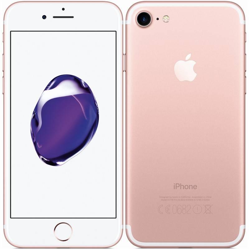 Mobilný telefón Apple iPhone 7 128 GB - Rose Gold (MN952CN/A)