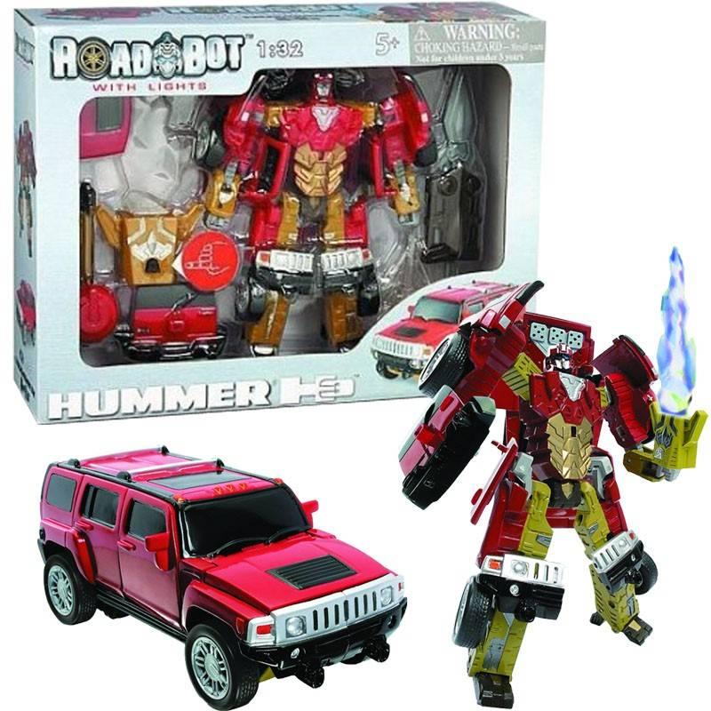 Transformers Road Bot Hummer H3 1:32 se světlem