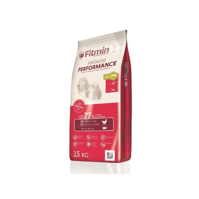 Granule FITMIN dog Medium Performance - 15 kg Antiparazitní obojek Scalibor Protectorband pro psy - 48 cm