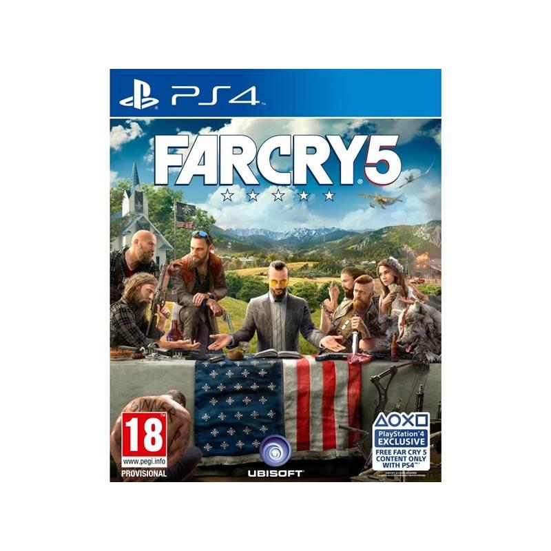Hra Ubisoft PlayStation 4 FAR CRY 5 (3307216023234) + Doprava zadarmo