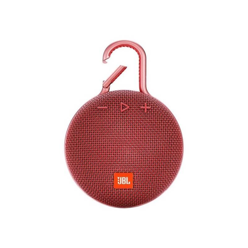 Prenosný reproduktor JBL CLIP 3 červený