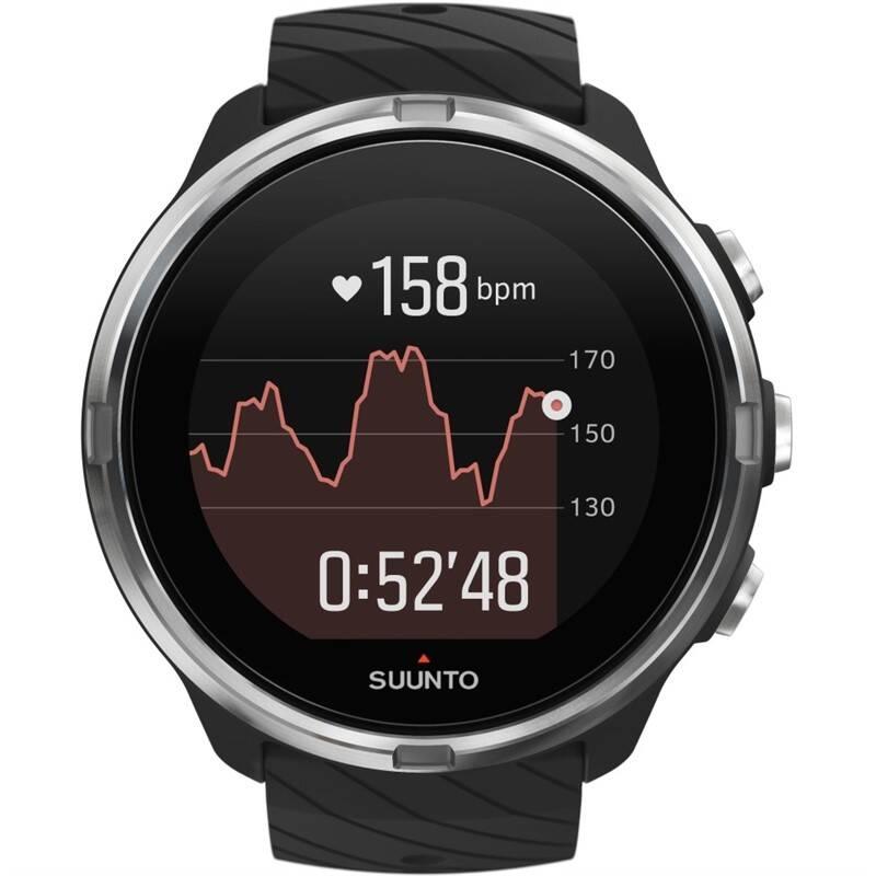 Chytré hodinky Suunto 9 - Black (SS050142000)