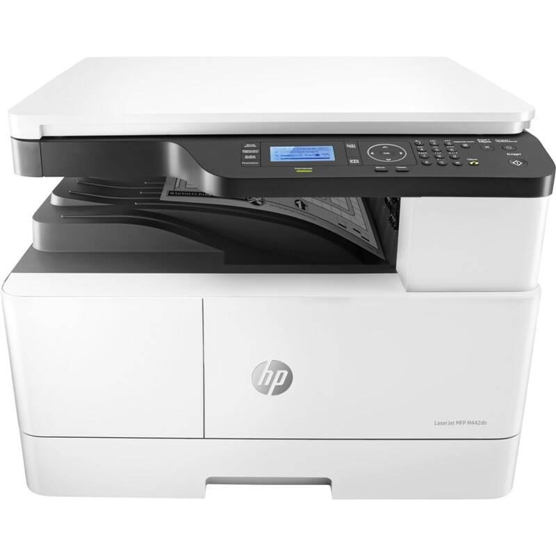 Tlačiareň multifunkčná HP LaserJet MFP M442dn (8AF71A#B19) biele