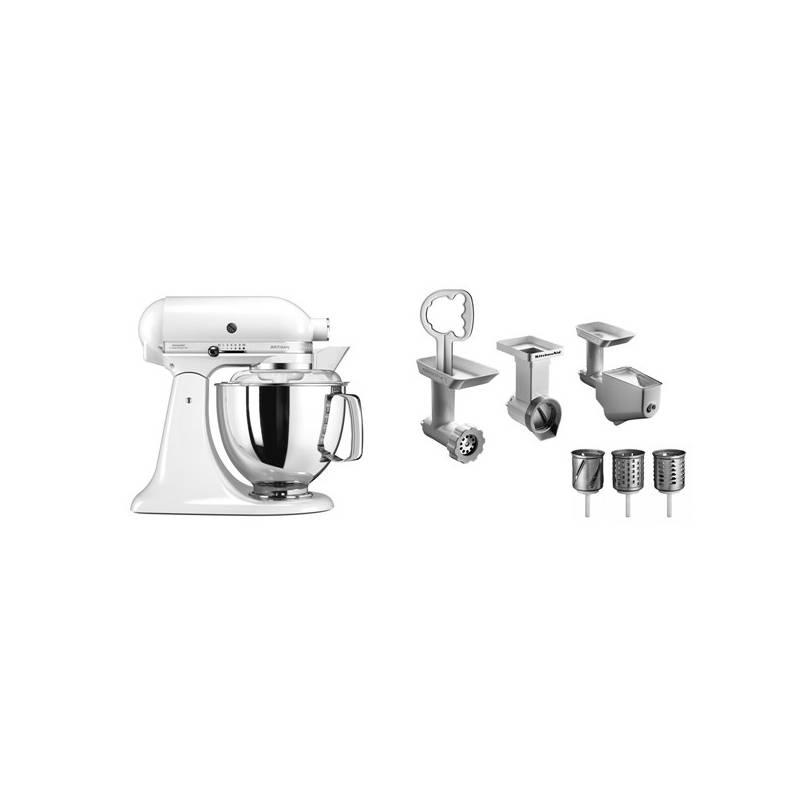 Set výrobkov KitchenAid 5KSM175PSEWH + FPPC + Doprava zadarmo