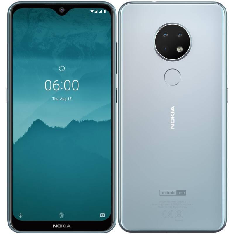 Mobilný telefón Nokia 6.2 Dual SIM (6830AA002409) strieborný + Doprava zadarmo