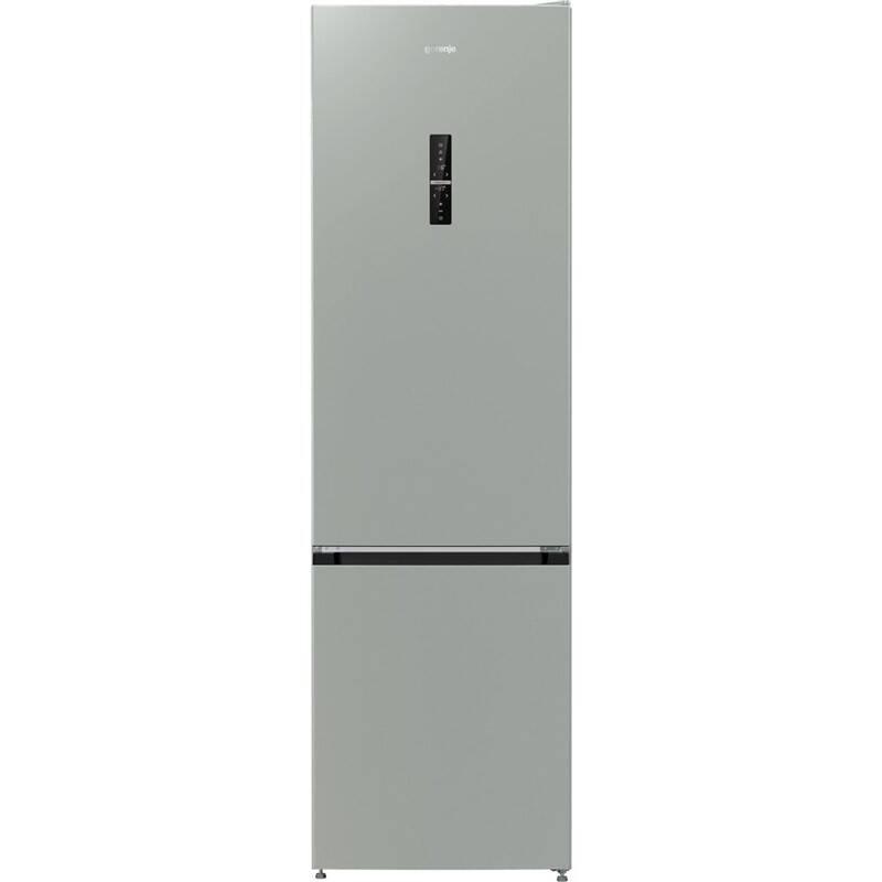 Kombinácia chladničky s mrazničkou Gorenje NRK6203TX4 nerez + Doprava zadarmo