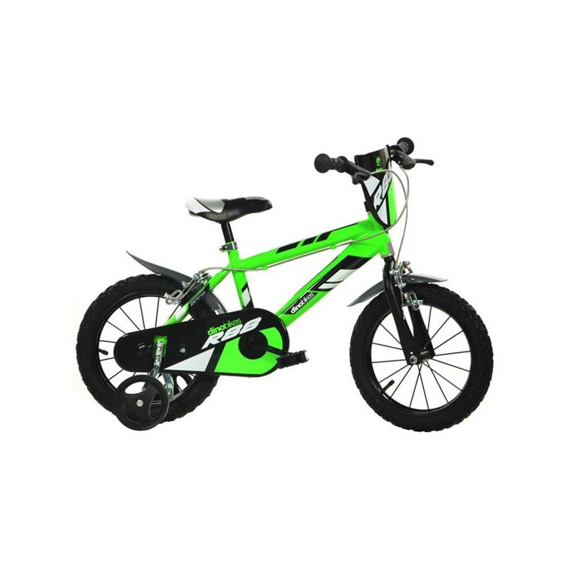 "Detský bicykel Dino Bikes 14"" - zelené"