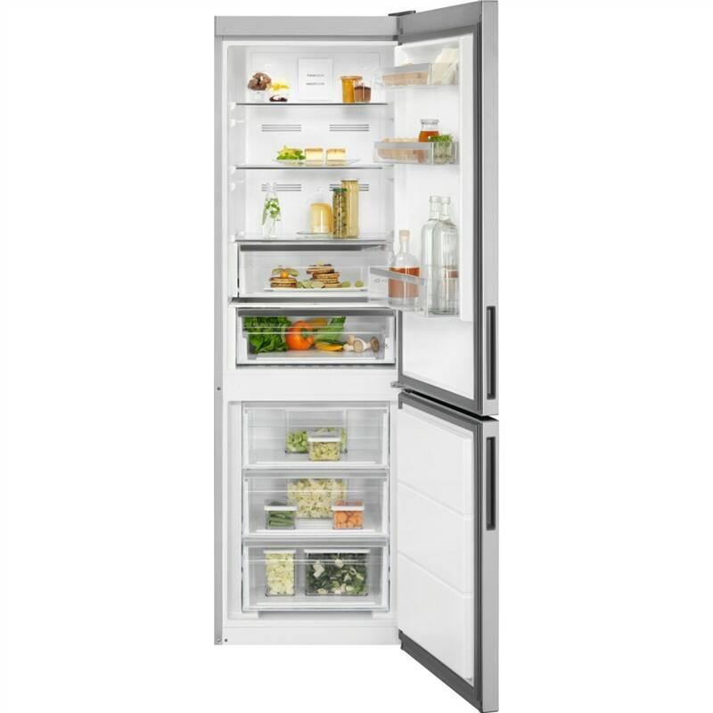 Kombinácia chladničky s mrazničkou Electrolux EN3484MOX + Doprava zadarmo