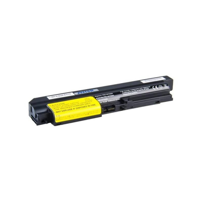 Batéria Avacom pro Lenovo ThinkPad R61/T61/R400/T400 Li-ion 10,8V 5200mAh/56Wh (NOLE-R61h-806)