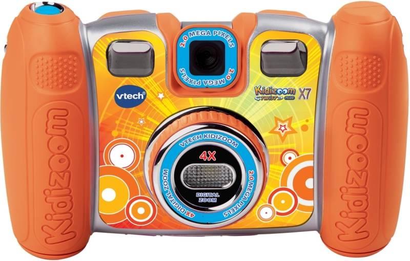 Digitálny fotoaparát Vtech detský Kidizoom Twist Plus X7 (80-140849) oranžový