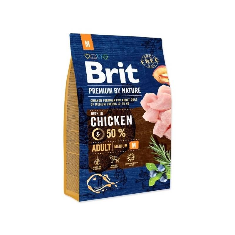 Granuly Brit Premium Dog by Nature Adult M 3 kg