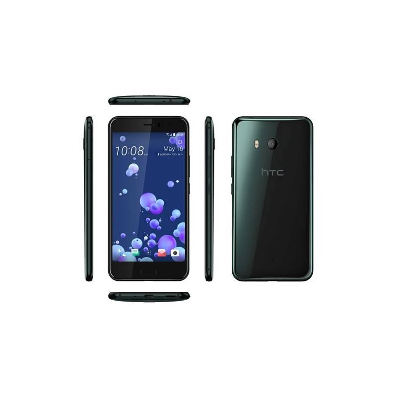 Mobilný telefón HTC U11 - Brilliant Black (99HAMP032-00) + Doprava zadarmo