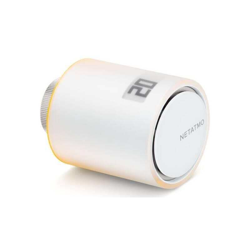 Bezdrátová termohlavica Netatmo Valves 1 ks (NAV-EN) biela