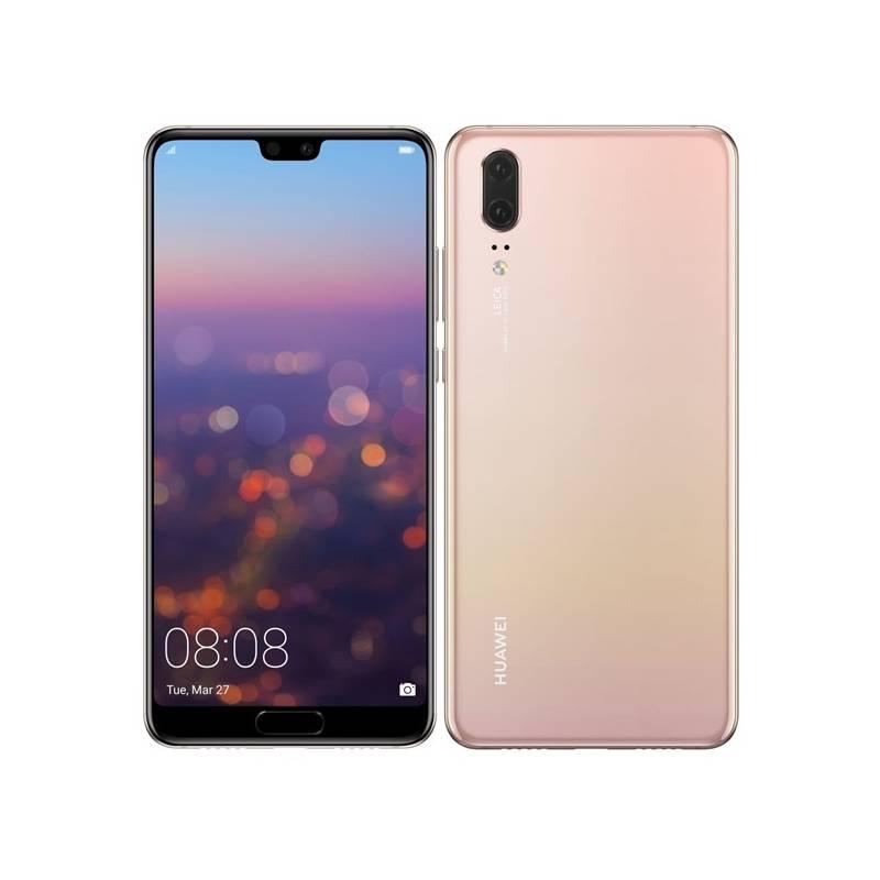 Mobilný telefón Huawei P20 Dual SIM (SP-P20DSPOM) ružový Software F-Secure SAFE, 3 zařízení / 6 měsíců (zdarma)Osobní váha Huawei AH100 (zdarma)Fitness náramek Huawei Color Band A2 - černé (zdarma) + Doprava zadarmo