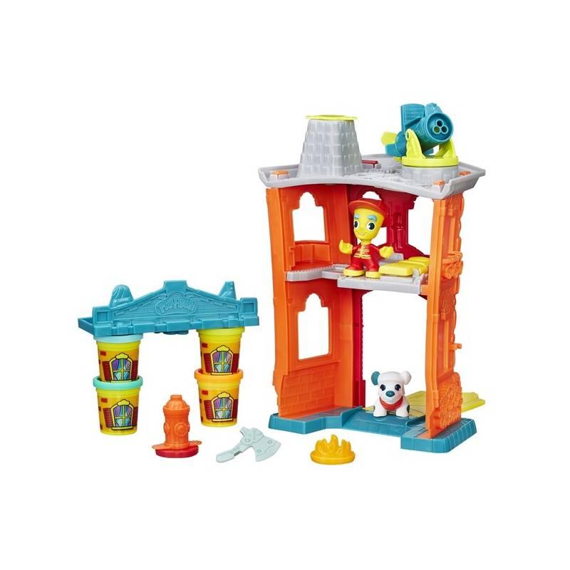 Play-Doh Hasbro town požární stanice + Doprava zadarmo