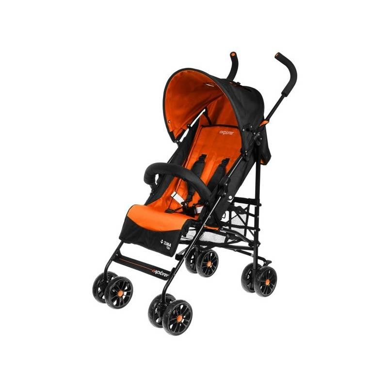 Kočík golfové palice ZUMA Kids Explorer oranžový