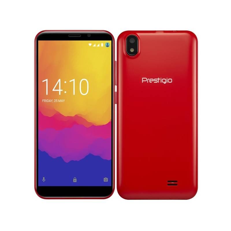 Mobilný telefón Prestigio Wize Q3 Dual SIM (PSP3471DUORED) červený