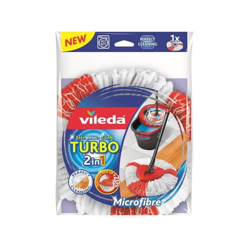 Návlek na mop Vileda Easy Wring and Clean Turbo (151608) Čistící prostředek Ajax na podlahy (zdarma)