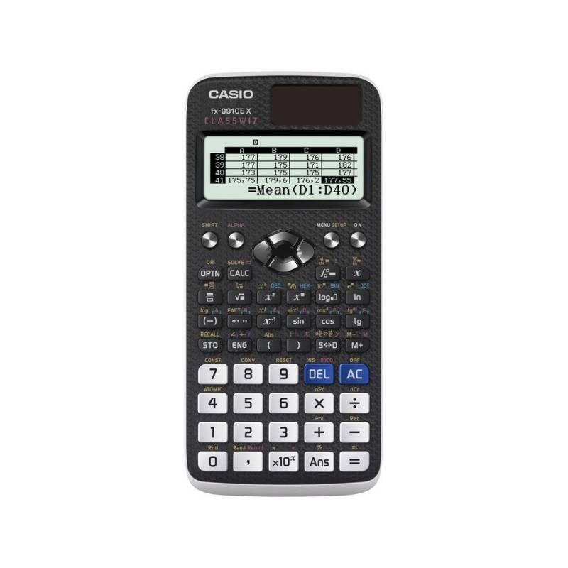 Kalkulačka Casio ClassWiz FX 991 CE X (FX 991 CE X) čierna + Doprava zadarmo