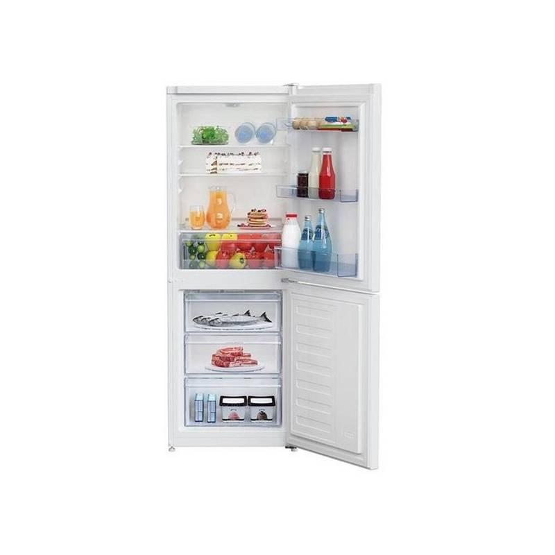 Kombinácia chladničky s mrazničkou Beko RCSA 270 K30 W biela + Doprava zadarmo