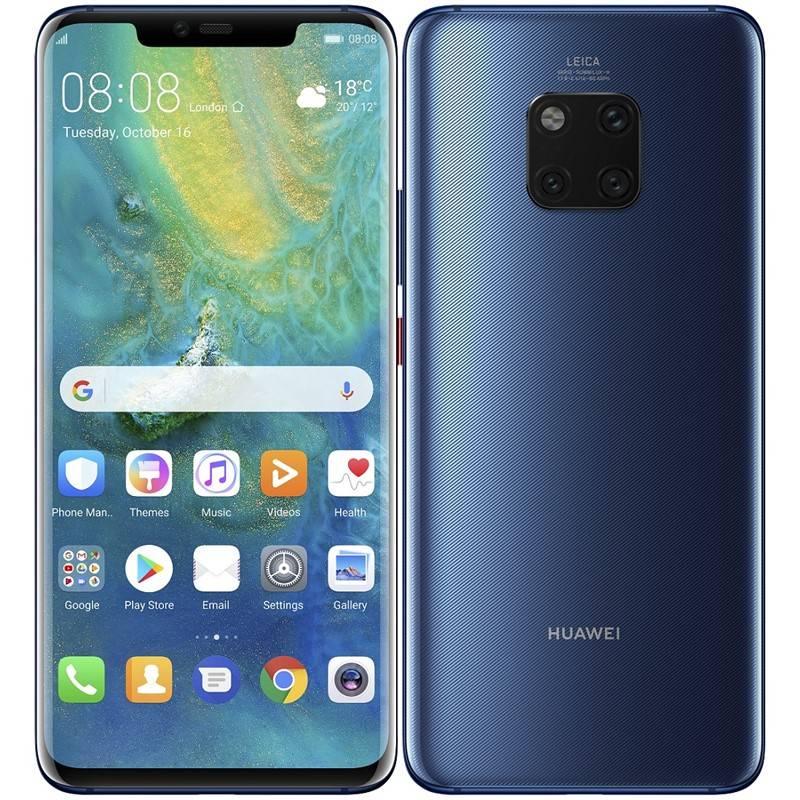Mobilný telefón Huawei Mate 20 Pro (SP-MATE20PDSLOM) modrý Software F-Secure SAFE, 3 zařízení / 6 měsíců (zdarma)