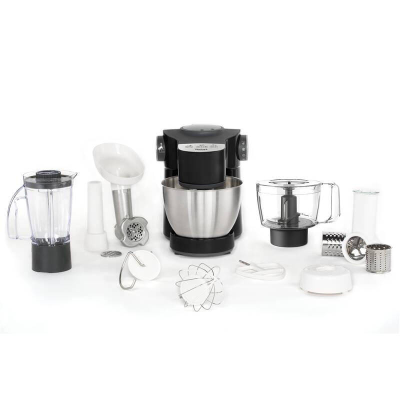 Kuchynský robot Tefal Wizzo QB319838 čierny
