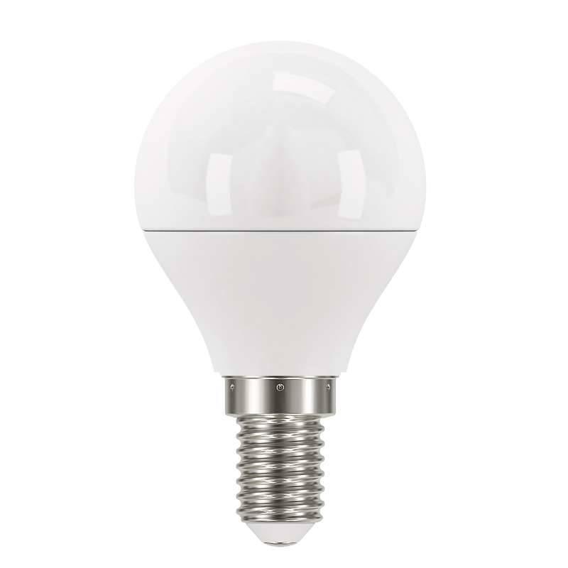 LED žiarovka EMOS mini globe, 6W, E14, neutrální bílá (1525731403)