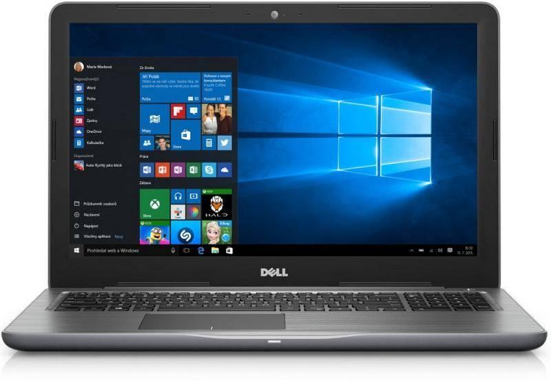 Notebook Dell Inspiron 15 5000 (5567) (N-5567-N2-312S) sivý Software F-Secure SAFE, 3 zařízení / 6 měsíců (zdarma) + Doprava zadarmo