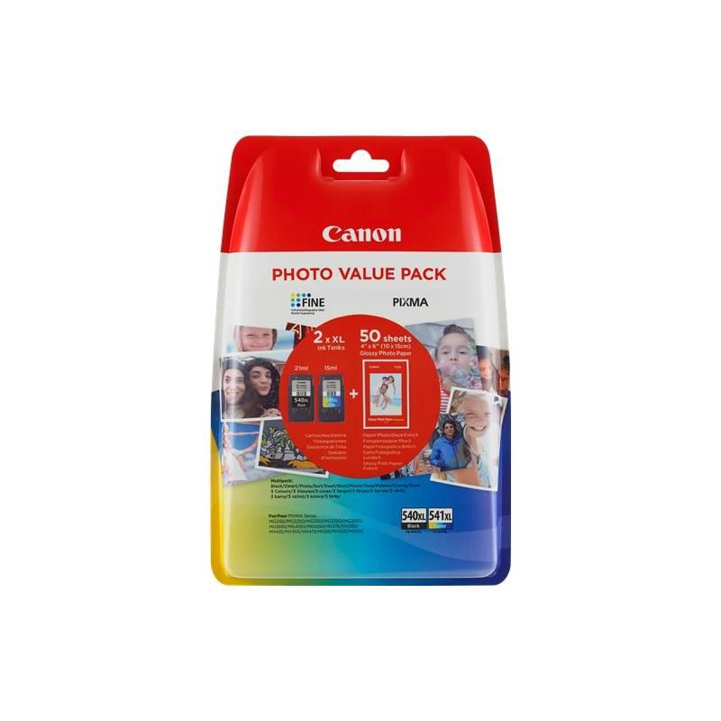 Cartridge Canon PG-540XL/CL-541XL PHOTO VALUE Pack, 1000 stran, CMYK (5222B013)